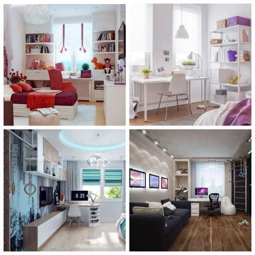 дизайн комнаты подростков_5
