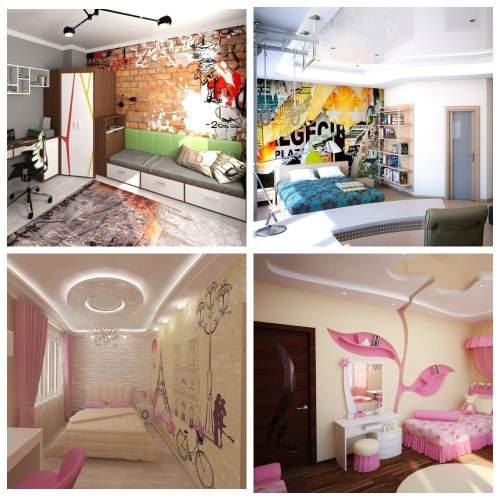 дизайн комнаты подростков_6
