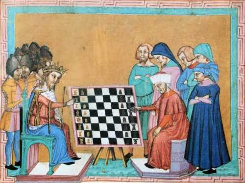 история шахмат в Европе