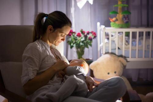 научить малыша спать всю ночь