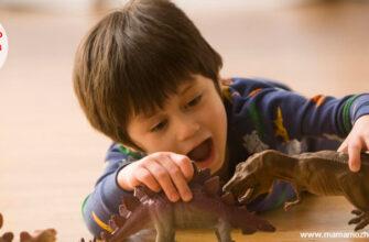 Загадки про динозавров для детей
