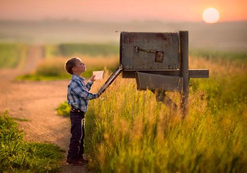Загадки про почтовый ящик