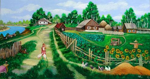 Прикольные частушки про деревню для детей