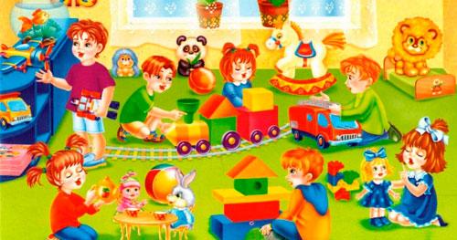 Смешные частушки про детский сад для детей
