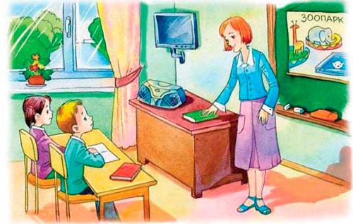 Загадки про урок для детей с ответами