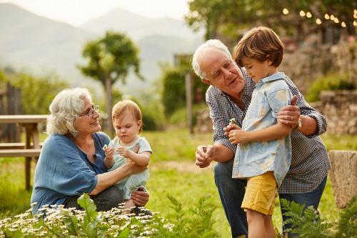дедушка и внуки как влияет общение