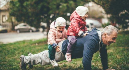 дедушки и внуки как влияют