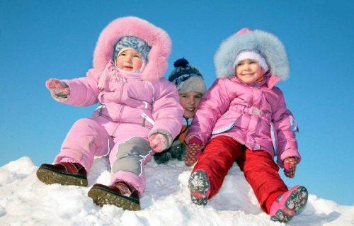одеть ребенка поп погоде зимой
