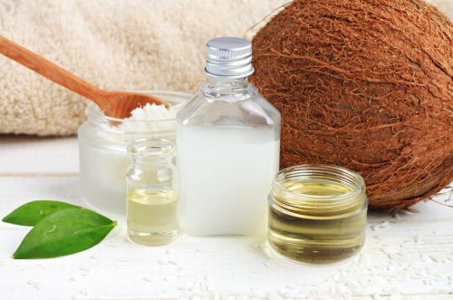 кокосовое и оливковое масло