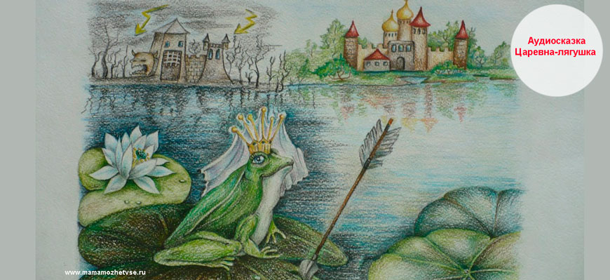 Аудиосказка «Царевна-лягушка»