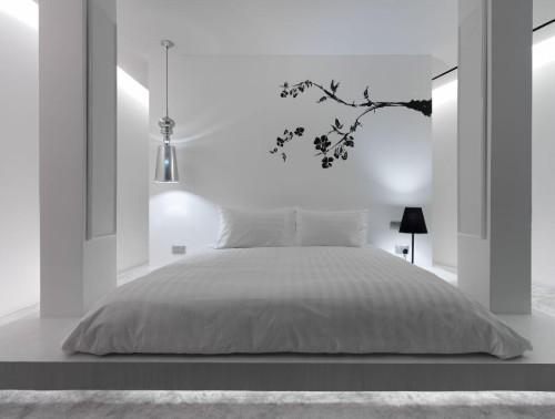 спальня в стиле минимализм_1