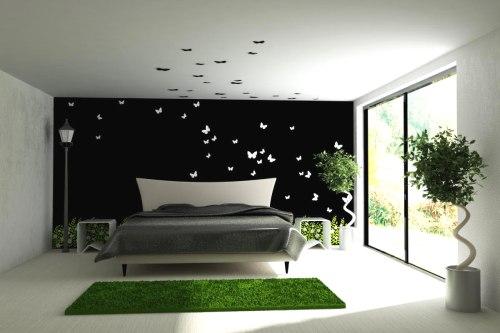 спальня в стиле минимализм_10