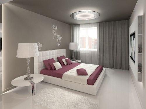 спальня в стиле минимализм_12