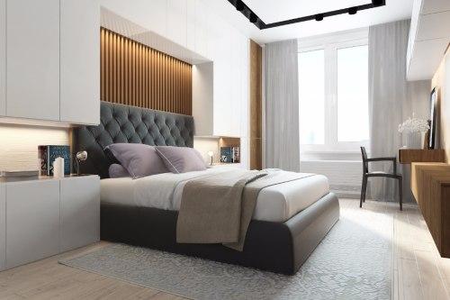 спальня в стиле минимализм_13