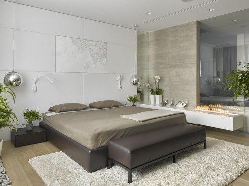спальня в стиле минимализм_14