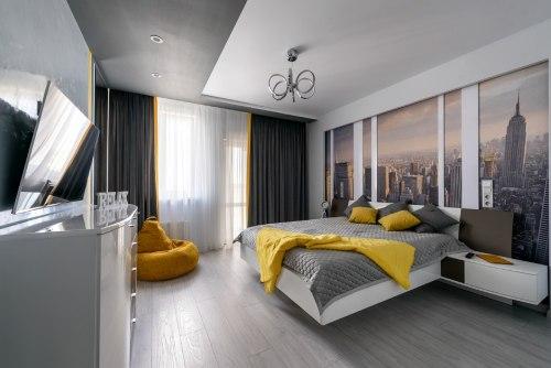спальня в стиле минимализм_17