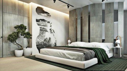 спальня в стиле минимализм_33