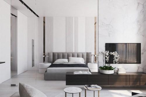 спальня в стиле минимализм_32