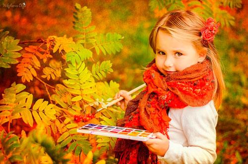 Красивые стихи про осень для детей 5-6 лет