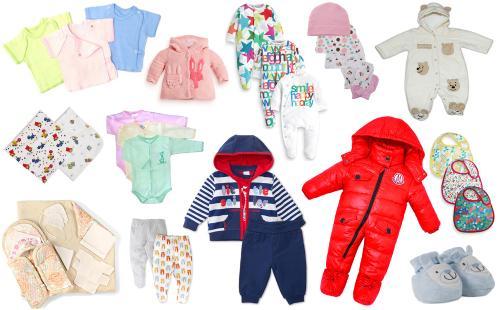 что одеть ребенку до трех