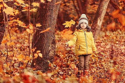 Частушки про осень для детей