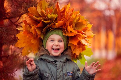 Красивые стихи про золотую осень для детей