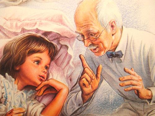 Красивые и короткие стихи про дедушку для детей