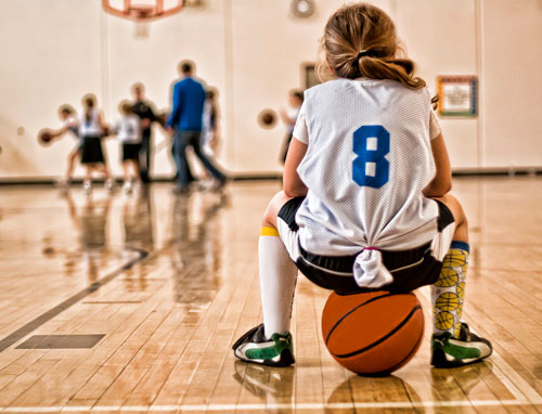 Загадки про баскетбол
