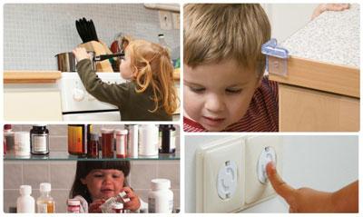 Безопасный дом для ребенка: розетки
