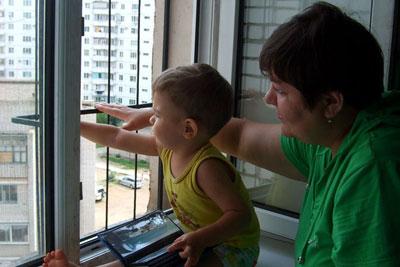 Безопасный дом для ребенка: окна