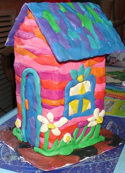 идеи для поделок из пластилина в детском саду