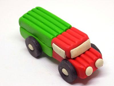 идеи поделок из пластилина для мальчиков 5 лет