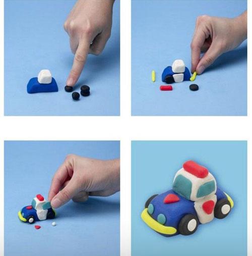 идеи поделок из пластилина для мальчиков 7 лет
