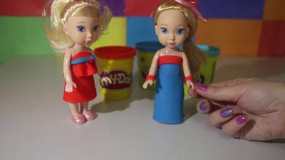 идеи поделок из пластилина для девочек 3 лет