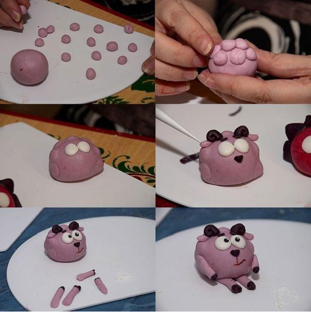 Идеи детских поделок из пластилина в детском саду 2
