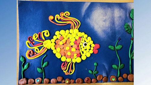Идеи поделок для детей: рыбка