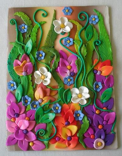 красивые идеи поделок для детей цветы