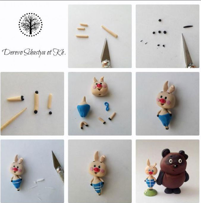 Идеи детских поделок из пластилина в детском саду 4