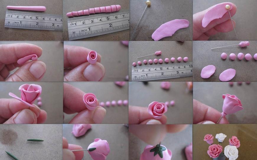 идеи поделок цветов из пластилина