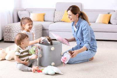 Как научить ребенка в 5 лет убирать игрушки