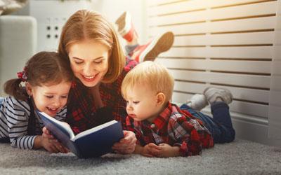 Как привить ребенку любовь к чтению в 5 лет