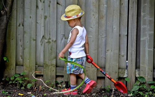 Загадки про лопату
