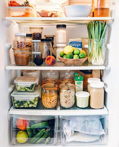 Порядок в холодильнике: идеи