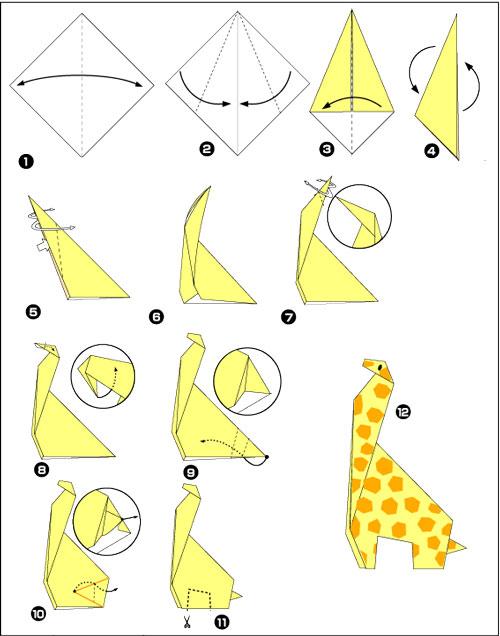 Поделки из бумаги без клея в технике оригами
