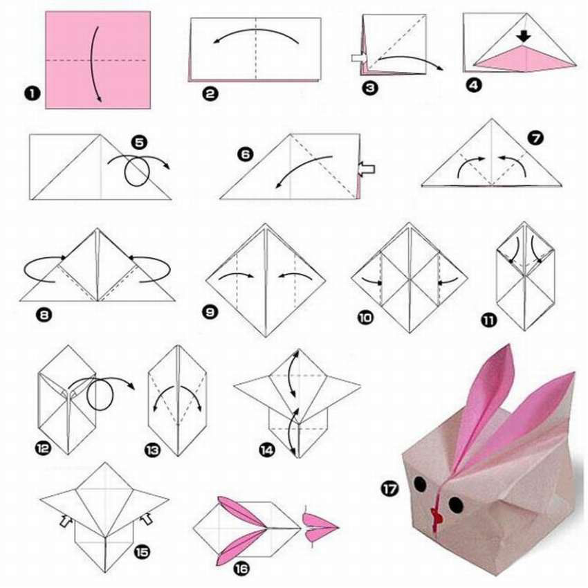 поделка для детей заяц