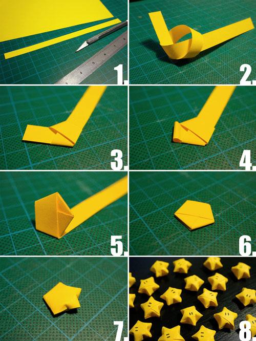 Схема поделки из бумаги без клея