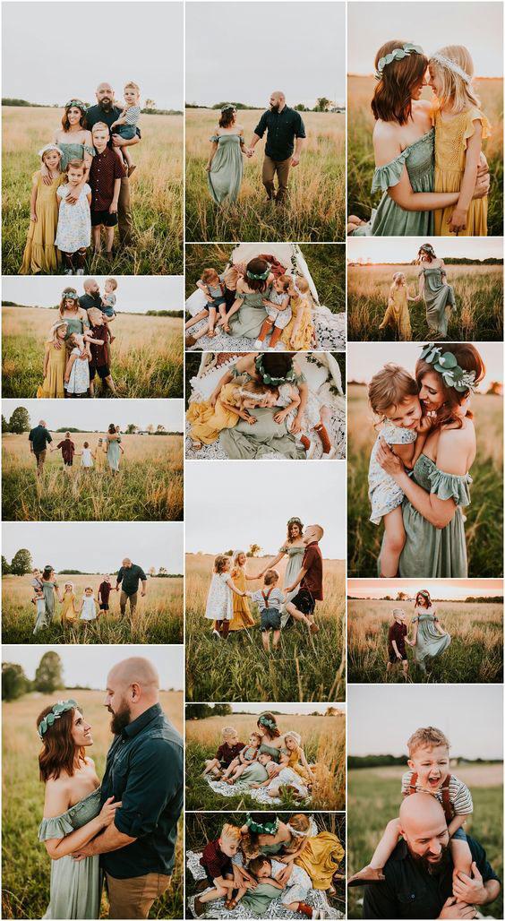 Как подготовиться к фотосессии всей семьей 1