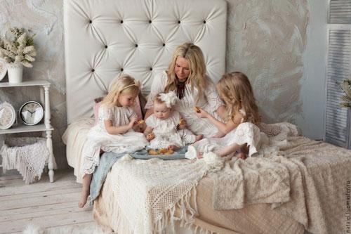 фотосессиия с дочками