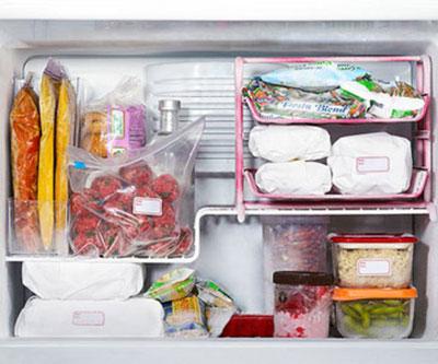Порядок в морозильной камере холодильника 2