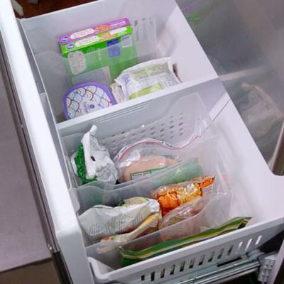 Порядок в морозильной камере холодильника